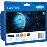 Brother LC1280XL -Pack de 4 Cartouche...