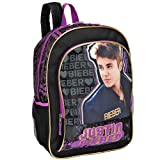 Justin Bieber On My Mind 16 inch Backpack - Black
