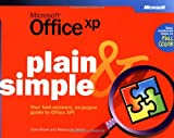 img - for Microsoft  Office XP Plain & Simple (How to Do Everything) book / textbook / text book