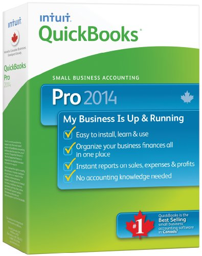 QuickBooks Pro 2014, English - Accounting Software [OLD VERSION]