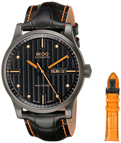 mido-herren-armbanduhr-multifort-analog-automatik-leder-m0054303605180
