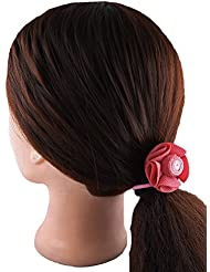 Anuradha Art Pink Colour Stylish Hair Accessories Hair Band Stylish Rubber Band For Women/Girls