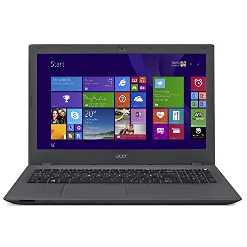 Acer Aspire E5-573 15.6-Inch Notebook (Intel Core i5-5200U 2.2 GHz, 8 GB RAM, 1 TB HDD, Webcam, Integrated Graphics...
