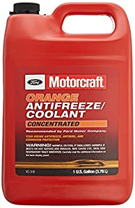 Genuine Ford Fluid VC-3-B Orange Concentrated Antifreeze/Coolant - 1 Gallon from Ford