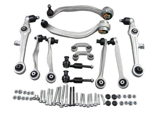 B5 00-01 Black Wheel Bolt Nut Covers GEN2 17mm For Audi RS4
