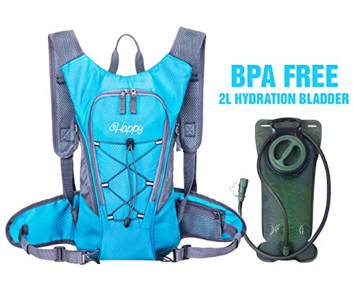 Hydration Pack with 2L Backpack hydration Bladder From