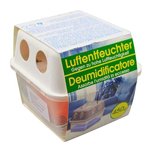 Luftentfeuchter Box 450g Granulat Raumentfeuchter Lufttrockner Entfeuchter