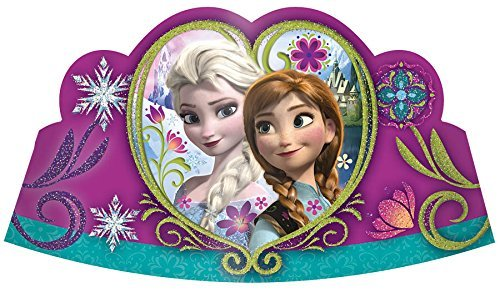 Disney Frozen Tiaras - 8 ct