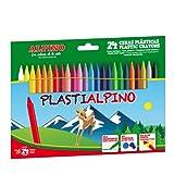 Alpino PA000024 Box of 24 Wax Crayons