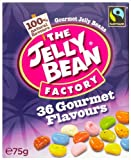 The Jelly Bean Factory Box of Gourmet Jelly Beans 75 g (Pack of 8)