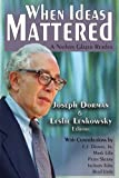 img - for When Ideas Mattered: A Nathan Glazer Reader book / textbook / text book