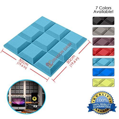 super-dash-1-piece-de-50-x-50-x-5-cm-noir-grille-tegular-biseau-style-home-studio-acoustique-insonor