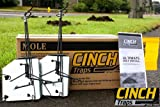 Mole Trap Kit: Two Traps With Mole Tunnel Flags and Instructions - By CINCH Traps - Made In America