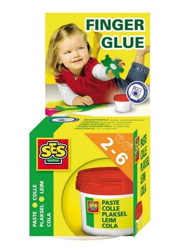 SES Creative Children's Washable Finger Glue - 1