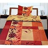 2 tlg fleece bettw sche bergr e 155x220 80x80cm. Black Bedroom Furniture Sets. Home Design Ideas