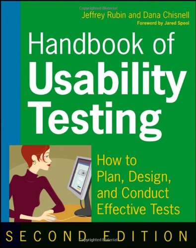 Handbook of Usability Testing: Howto Plan, Design, and...