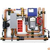 HydroNex - Snow Melting - Distribution with Heat Exchanger Panel - Watts Radiant 1558 Circulator w/ 2699 Secondary