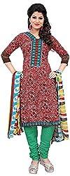 Vardhman Fashion Women's Cotton Unstitched Dress Material (Multi-Coloured)