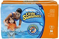 Huggies Little Swimmers Disposable Swim Diapers Medium Pk of 11 diapers