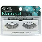Ardell Fashion Lashes, 105 Black, 1 Pair (Pack of 3)