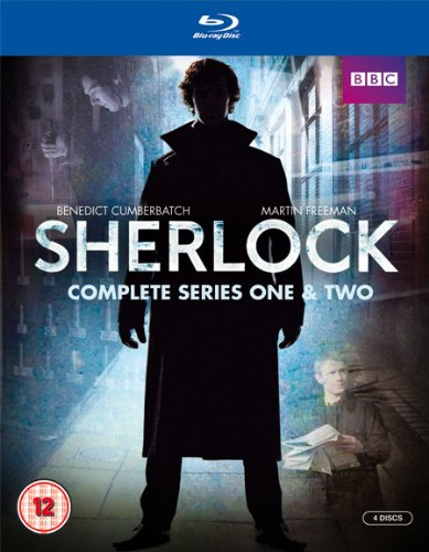 Sherlock: Complete Series One & Two [Blu-ray] [Import]