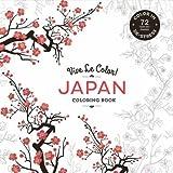 Japan Colouring Book: Colour In; De-stress (Paperback)