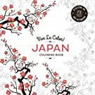 Japan Colouring Book: Colour In; De-stress (Paperback)