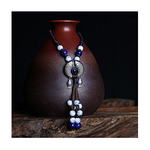 Mr Ribbit Ethnic Style Kiss Fish Shapped Love Opera Necklace