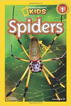 Geographic Readers: Spiders (9781426308512): Laura Marsh: Books