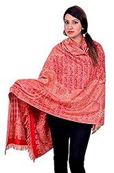 Matelco Women's Shawl (AD002HMTRE320_Red_Free Size)