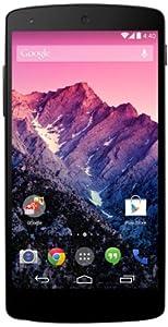 Google Nexus 5 Smartphone (12,6 cm (4,9 Zoll) Full HD-IPS-Display, 2,26GHz Snapdragon 800 Prozessor, 16GB interner Speicher, 8 Megapixel Kamera, Android 4.4) schwarz
