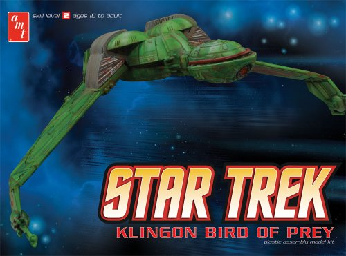Round 2 AMT Star Trek Klingon Bird of Prey