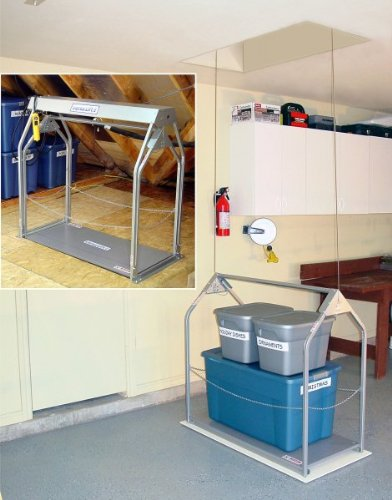 Images for Versa Lift Garage Storage Lift - 8' to 11' Floor to Floor (Silver) (46.25
