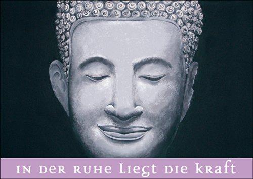 Verschicken Sie positive Geburtstags Grüße mit Buddha: In der Ruhe... • auch zum direkt Versenden mit ihrem persönlichen Text als Einleger.