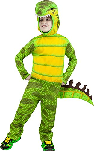 Fun World Costumes Baby Boy's T-Rex Toddler Costume, Green, Small