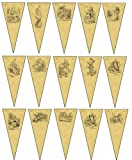 Alice in Wonderland themed bunting