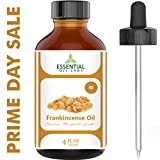 Frankincense Oil - 74% OFF TODAY ONLY - Highest Quality Therapeutic Grade Backed by Research - Large 4 oz Bottle with Premium Dropper - 100% Pure and Natural by Essential Oil Labs