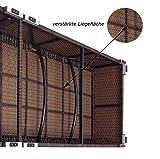 HOCHWERTIGE-EXKLUSIVE-5-STERNE-XXL-PREMIUM-LIEGE-Verona-high-mit-12-cm-Auflage-mit-Kopfkissen-waschbar-extra-hohe-Sitzhhe-von-ca-52-cm-inkl-Auflage-bis-ca-200-kg-belastbar-bestens-fr-gewerblichen-Eins
