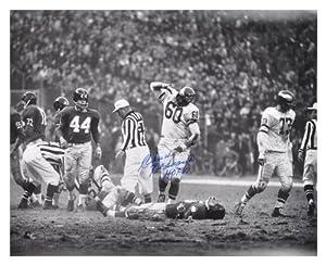 Philadelphia Eagles Chuck Bednarik Autographed 16