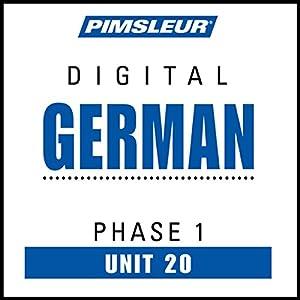 German Phase 1, Unit 20 Audiobook