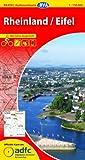 ADFC-Radtourenkarte 15 Rheinland /Eifel 1:150.000, reiß- und wetterfest, GPS-Tracks Download und Online-Begleitheft (ADFC-Radtourenkarte 1:150000)