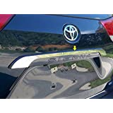Toyota Sienna 2011-2015 Stainless Steel Chrome Rear Trunk Molding Trim (NOT Replacement) 1PC