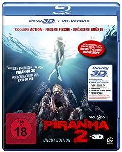 Piranha 2 (Uncut) [Blu-ray 3D + 2D]