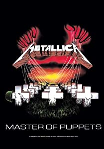 Metallica - Master of Puppets - Posterflagge 100% Polyester - Grösse 75x110 cm