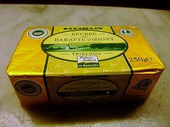 フランス ノルマンディー産 イズニー(Isigni) AOP 有塩バター 250g