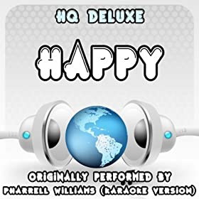 Happy (Originally Performed by Pharrell Williams) [Karaoke Version with Backing Vocals]