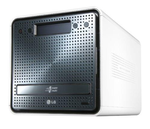 Boîtier réseau NAS N2R1DD2 avec graveur DVD - 2 To