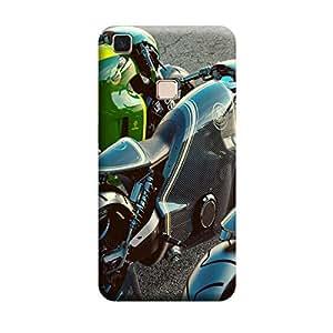 iShell Premium Printed Mobile Back Case Cover With Full protection For Vivo V3 Max (Designer Case)