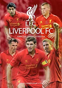 Official Liverpool FC 2014 Calendar by Danilo Promotions Limited