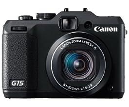 Canon デジタルカメラ PowerShot G15 約1210万画素 光学5倍ズーム PSG15
